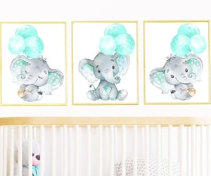 etsy, poster print, and neutral nursery image