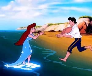 ariel, film, and mermaid image