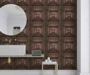 walls, wallpaper, and wood wallpaper image