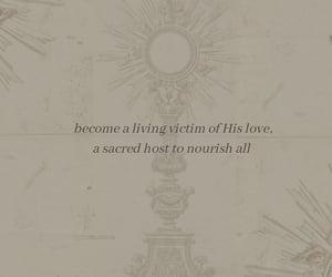 adoration, Catholic, and mass image