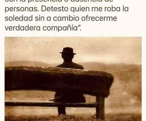 vida, soledad, and frases español image