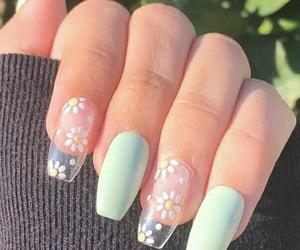 manicure, nailart, and nailpolish image