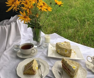 cake, food, and nature image