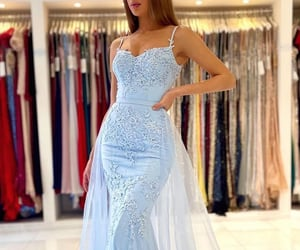 dresses, evening gown, and formal wear image