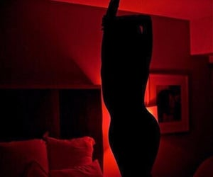 aesthetic and red image