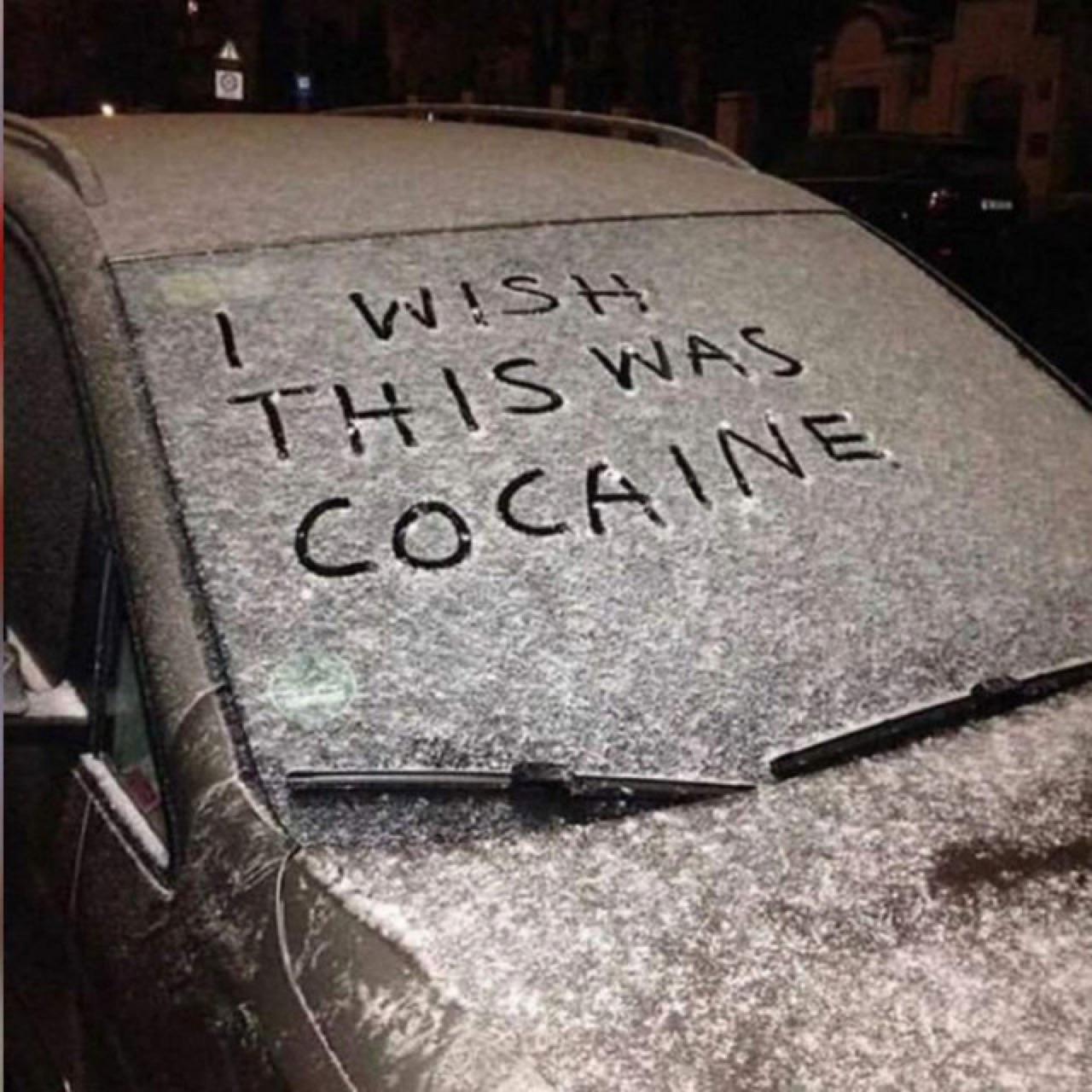 addiction, cold, and snow image