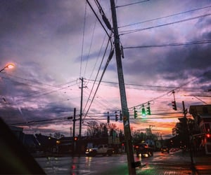 clouds, colors, and neighborhood image