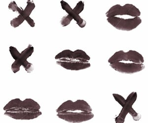kiss, red, and lips image