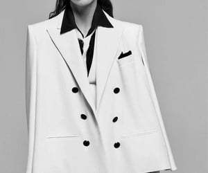 black and white, chic, and elegance image