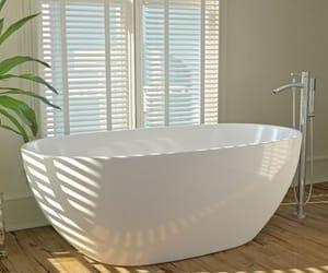 bathroom, modern, and decor image