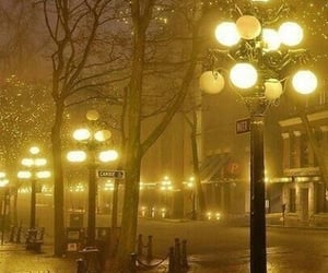 light, london, and night image