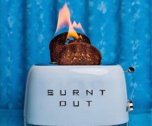 blue, toast, and burn image