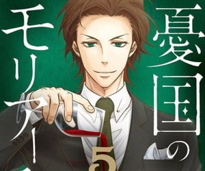 anime, manga cover, and moriarty the patriot image