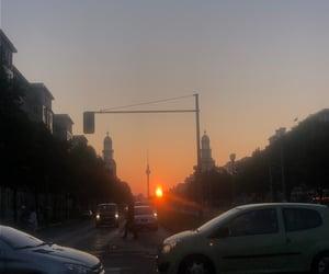 berlin, sky, and sun image