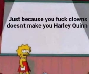 clowns, harley quinn, and cool image