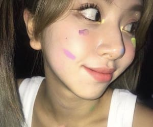 beautiful girl, aesthetic, and icons image