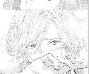 couple, manga, and kiss image