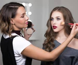 make, maquiagem, and maquiagem profissional image