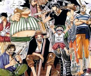 manga, akagami, and one piece image