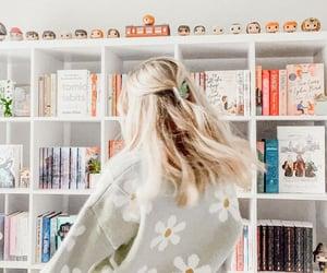 aesthetic, bookshelves, and ya books image