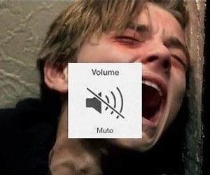 sad, cry, and grunge image