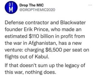 Afghanistan, blackwater, and eric prince image