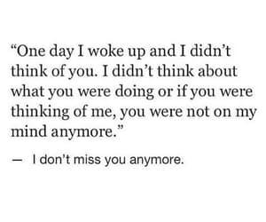 the best feeling, 1 day i woke up, and i don't miss u anymore image
