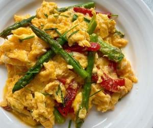 asparagus, turkish food, and breakfast image