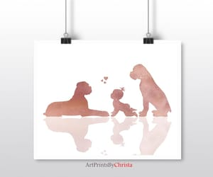 baby animals, printable art, and printable wall art image
