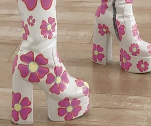 boots, flowers, and shoes image