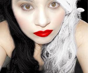 cruella, filter, and girl image