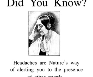 headaches, did you know?, and nature's way image