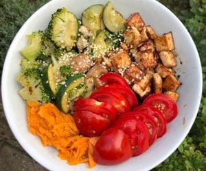 avocado, bowl, and fitness image