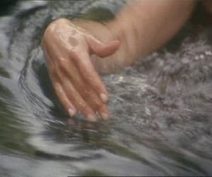 gif, relax, and water image
