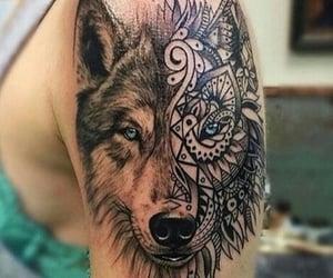 animals, art, and wolf image
