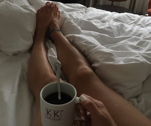 chill, coffe, and sheets image