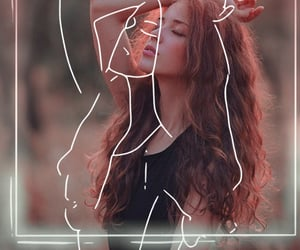 beauty, edit, and girl image