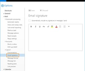 outlook 16 email sig image