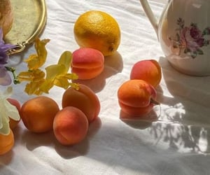 apricot, brunch, and food image