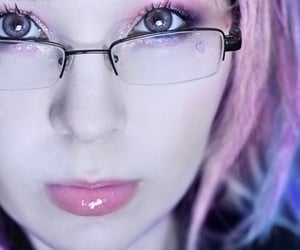 glasses and nerd image