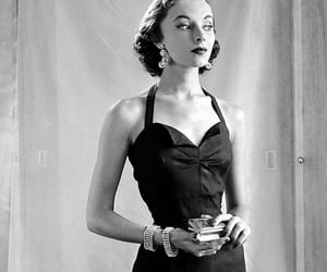 40s, black and white, and elegant image