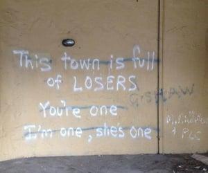 aesthetic, broken, and graffiti image
