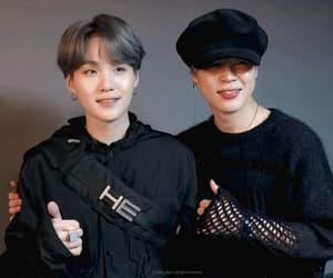 gif, korean, and bangtan image