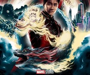 art, Marvel, and simu liu image