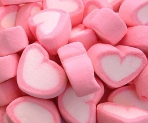 pink, aesthetic, and marshmallow image