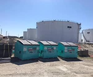 dumpster, waste disposal, and bin rental image