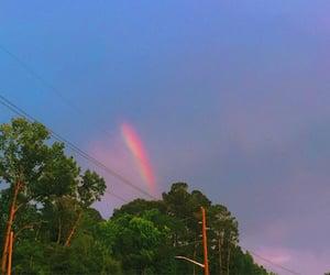 nature, rainbow, and my photo image