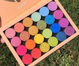 colours, eyeshadow, and maquiagem image