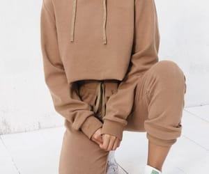 chunky, sweatshirt, and knit image