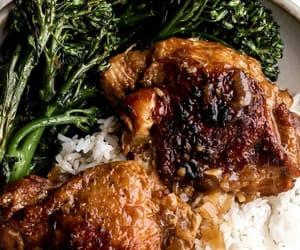 garlic, onion, and rice image